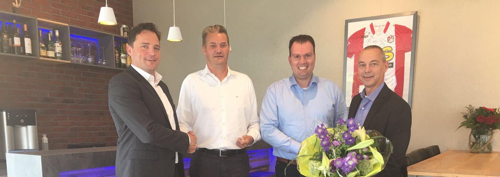 Muller Licht leverancier van het kwartaal Harwig