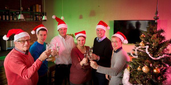Kerstgroet team Muller Licht