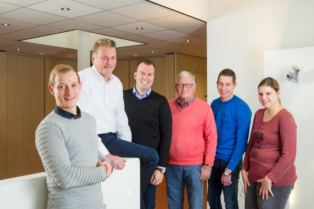 Het team van Muller Licht Sleen
