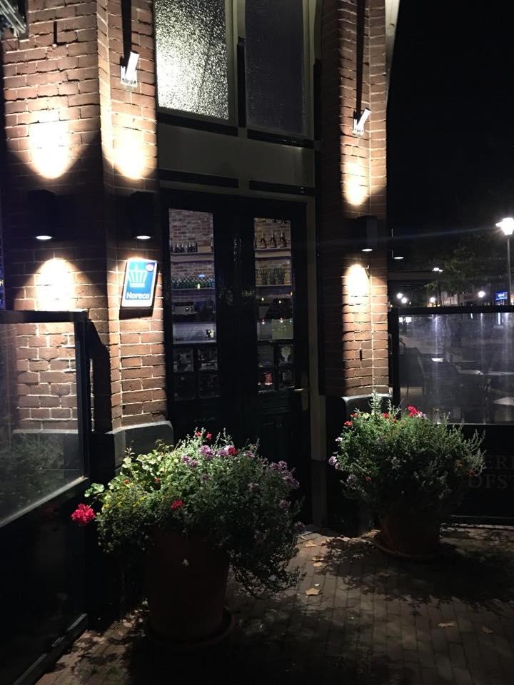 Wandlampen LED entree de Heeren van Hofsteenge Assen